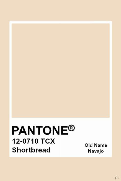 Pantone Shortbread