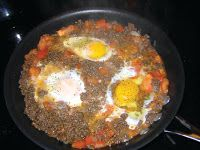 The Iraqi Family Cookbook: Ground Beef and Eggs Omelet-Makhlama