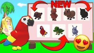 Buying All The New Jungle Pets In Adopt Me Roblox Roblox