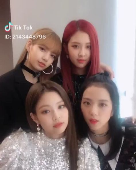 BLACKPINK Instagram Update DDU-DU DDU-DU on Tik Tok