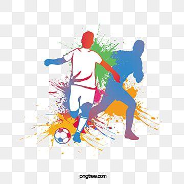رسم لاعب كرة القدم النافثة للحبر ألوان مائية كرة القدم رياضي Png والمتجهات للتحميل مجانا Watercolor Sketch Watercolor