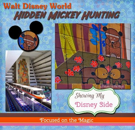 My #DisneySide: My favorite and the most exciting discovery was my son's first Hidden Mickey sighting. We were staying at The Contemporary Resort at the time which is filled with Hidden Mickeys. He loved the idea of hunting for these magical treasures.