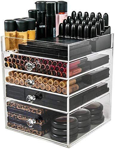 Geniessen Sie Exklusiv Fur N2 Makeup Co Acryl Makeup Organizer Cube 4 Schubladen Aufbew Acrylic Organizer Makeup Makeup Storage Containers Makeup Organization