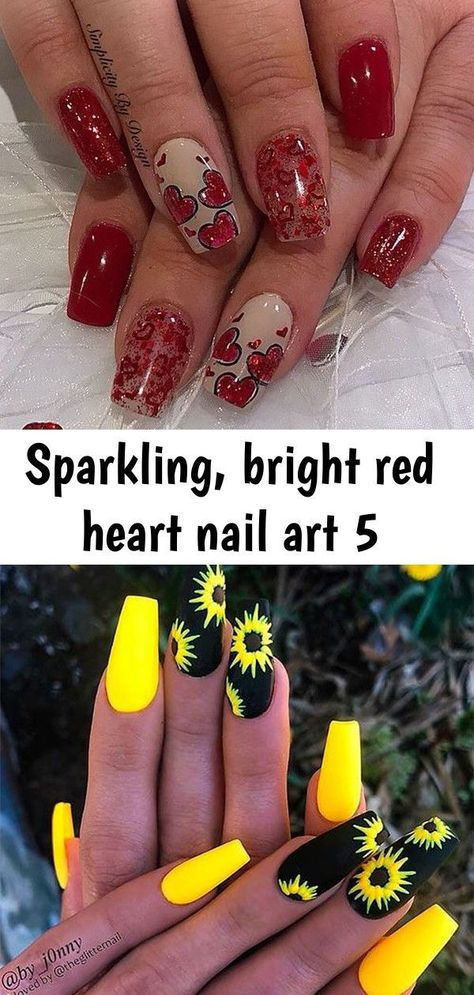 Terrific Free of Charge Nail Art Red heart Strategies Nails utilized ahead inside several colours. Purple, purple plus red. Oh yea, and let's take into  #Art #Charge #Free #heart #Nail #Red #Strategies #Terrific