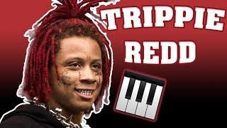 Trippie Redd Melody and Chords Beat Tutorial [FREE DOWNLOAD