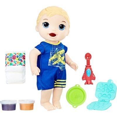 Blonde Baby Alive Snackin Luke Baby Boy In 2020 Baby Doll Accessories Baby Alive Baby Alive Dolls