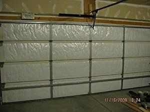 Nasa Tech White Reflective Foam Core Garage Door Insulation Kit 9l X 7h Garage Doors Door Insulation Garage Door Insulation