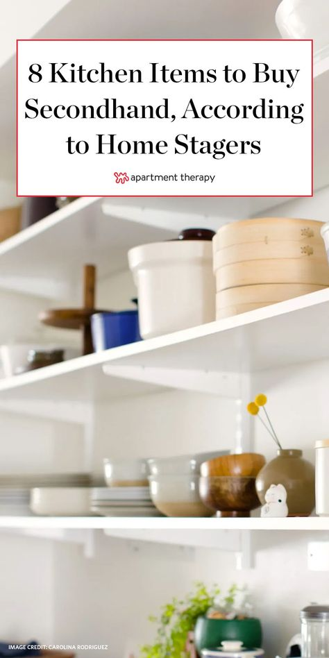 So when it comes to kitchens, home stagers know exactly which utensils, appliances, and decor can withstand the test of time and which items just don't age well with normal wear and tear.