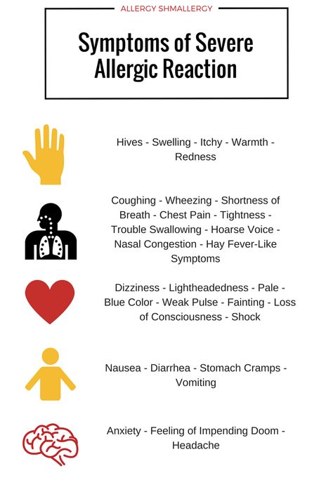 A food allergic reaction can vary from mild to severe and typically takes place shortly after eating or exposure. All reactions require immediate attention. But with severe allergic reactions, ca…