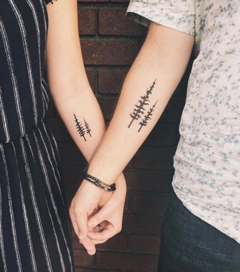 His and Hers Matching Tattoos For Couples || Matching Tattoo Designs || Couple Tattoo Designs || Best Friend Tattoos || Cute Tattoo Designs #tattoosforwomen