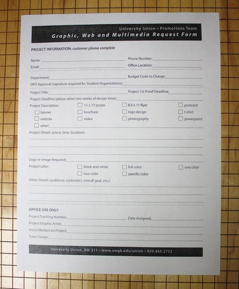 Estimate Request Form Design Request Form Template Interior