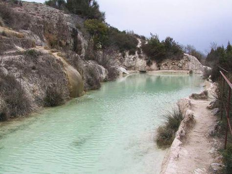 Terme Di Bagno Vignon Italy Thermal Pool Rome Places To Go