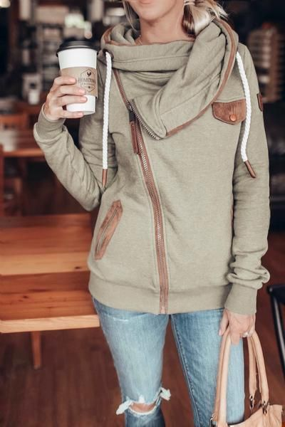 Wanakome Bailey Zip Hoodie | Women's fashion | Cozy outfits for Fall and  Winter | boutique style | hoodie style | … | Hoodies womens fashion, Hoody  outfits, Hoodies