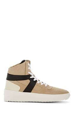 FEAR OF GOD BASKETBALL LEATHER SNEAKERS