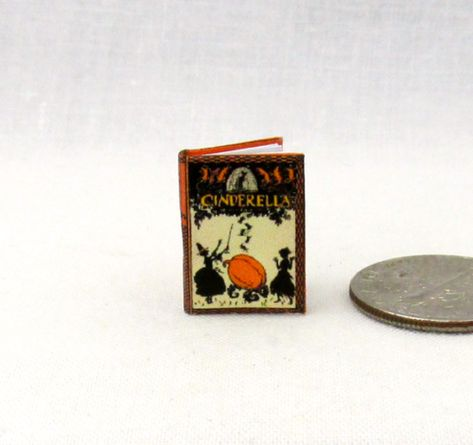 1:12 SCALE MINIATURE BOOK AROUND THE WEEK DOLLHOUSE SCALE