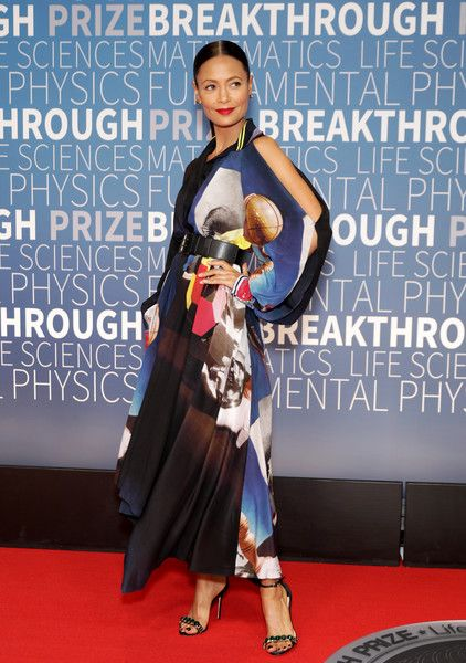 Thandie Newton attends the 2019 Breakthrough Prize at NASA Ames Research Center.
