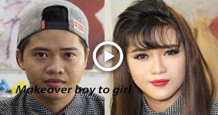 Asian Makeover Power Of Makeup Man Makeup Makeup Loadsoffun Male Makeup Asian Makeup Tips Amazing Makeup Transformation