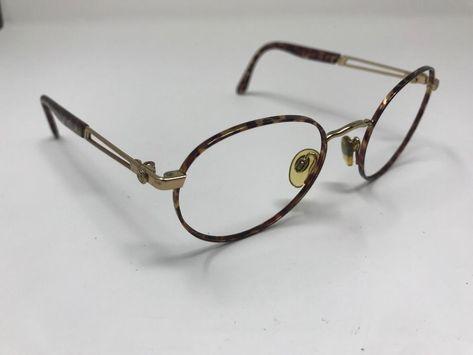 fa86856182a Vintage Sergio Tacchini ST-1005-S T818 Tortoise Gold Sunglass 49-20 135  KN54  fashion  clothing  shoes  accessories  vintage  vintageaccessories  (ebay link)
