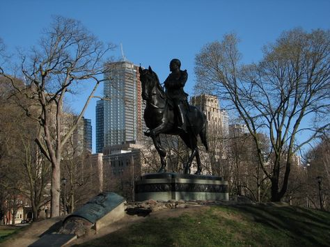 TORONTO--The Equestrian Statue of Edward VII in Queen's Park