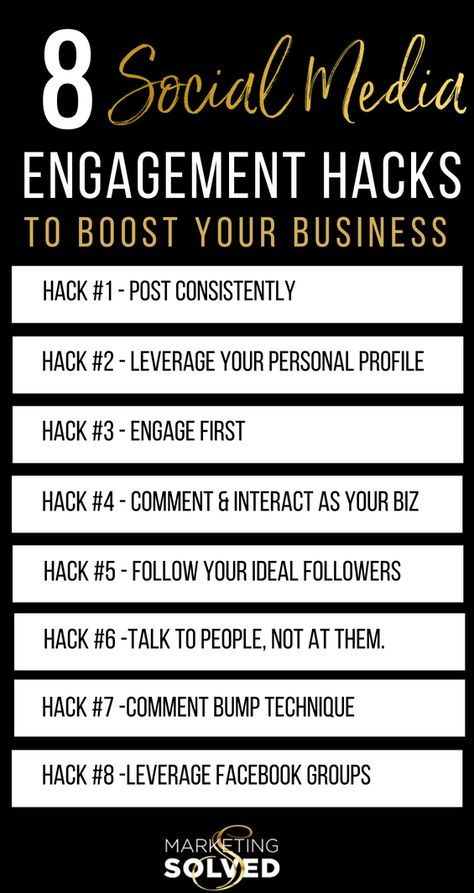 8 Social Media Engagement Hacks, Strategies & Tips to Boost Your Business