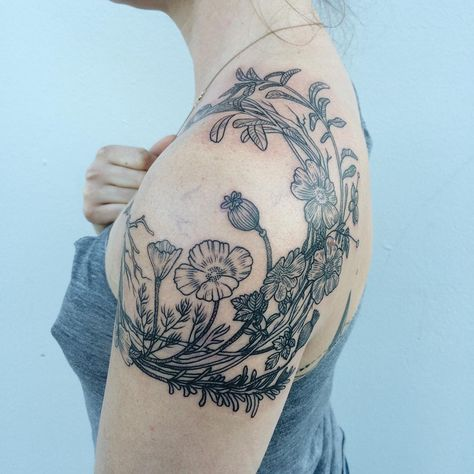Les tatouages faune et flore vintage de Pony Reinhardt  2Tout2Rien