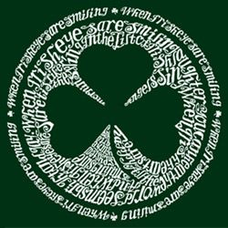 @Overstock - Show your Irish pride with a fun shirt  Women's clothing is available in black and dark green color options  T-shirt features the outline of a shamrock in a circlehttp://www.overstock.com/Clothing-Shoes/Los-Angeles-Pop-Art-Womens-Irish-T-shirt/3571347/product.html?CID=214117 $19.99