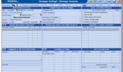 Miller Heiman Strategic Selling Blue Sheet Pdf Google Search