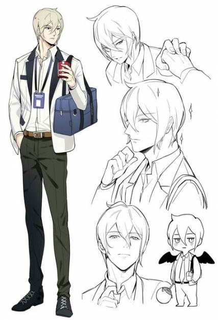 57 Ideas Drawing Poses Male Character Design Cartoon Cartoon Drawings Cartoon Character Design Anime Character Design
