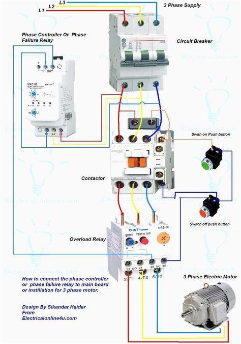 3 Phase Wiring Diagram For House Comandos Eletricos Instalacoes Eletricas Projetos Eletricos