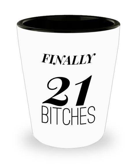 Shot Glasses Birthday Girl 21 St Gifts Idea For Her