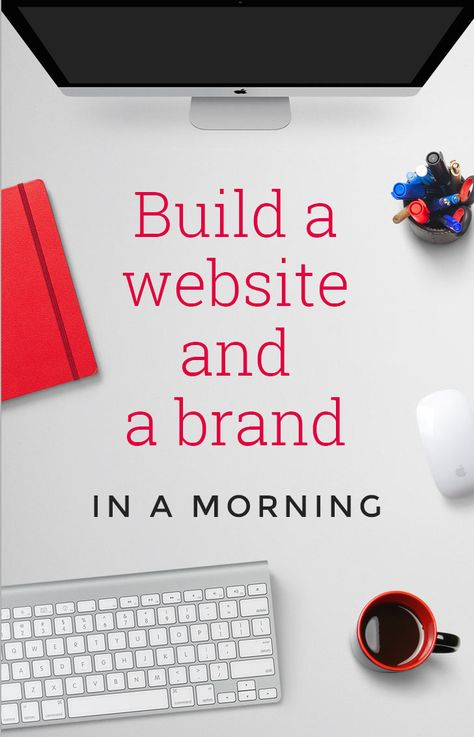 Want to start a business but no skill or budget to build a website or design a brand? Learn how we created both in a morning for less than £80 – with zero experience!
