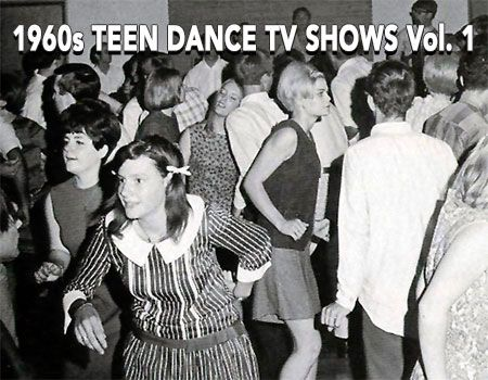 1960s TEEN DANCE TV SHOWS VOLUME 1 on DVD. Two regional U.S. teenage TV shows featuring cool dancing teens and vintage rock 'n' roll!   THE JACK SPECTOR SHOW 1961. New York City's WMCA