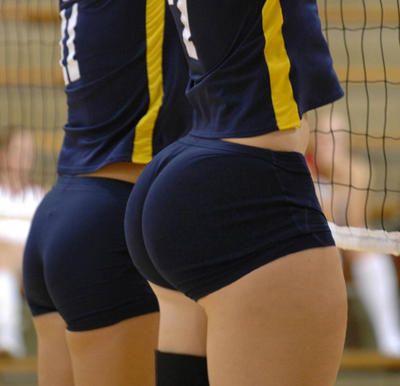 Girls Asses Volleyball Shorts