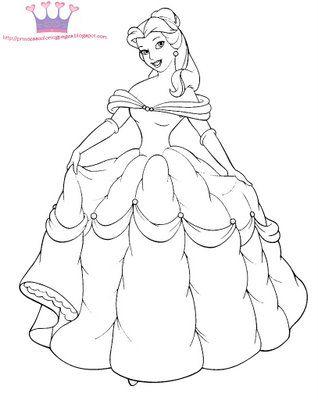 Großzügig Bedruckbare Malvorlagen Disney Prinzessin Zeitgenössisch ...