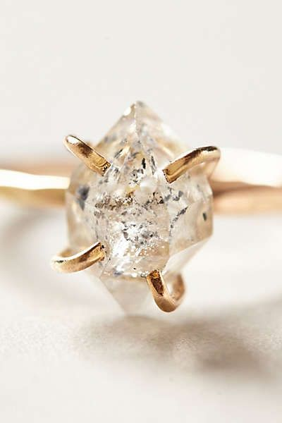 Anthropologie herkimer diamond ring jewels pinterest anthropologie herkimer diamond ring jewels pinterest herkimer diamond anthropologie and diamond junglespirit Image collections