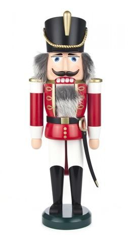 Nutcracker Soldier with Red Coat