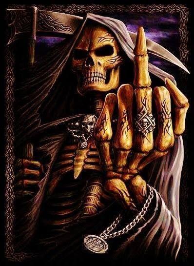 Pin Von Halo S Horn S Auf The Reaper The Death Tattoo Manner Horrorkunst Makabre Kunst