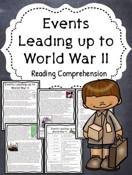 World War 2- Events leading up to World War II Reading