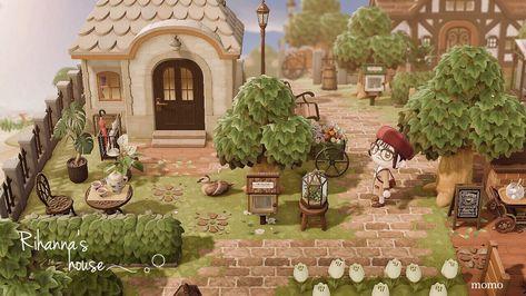 Animal Crossing Guide, Animal Crossing Villagers, Animal Crossing Pocket Camp, Animal Games, My Animal, Antique Bird Cages, Portrait Cartoon, Island Design, Landscape Pictures