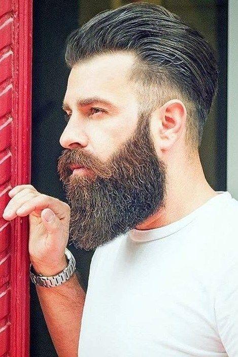 Amazing Low Fade Mohawk Hairstyle Men Should Try In 2020 Long Beard Styles Long Hair Styles Men Beard Styles