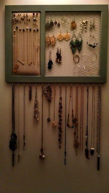 Pin By Becky Corbridge On Bottle Hoarding Buried Alive Diy Jewelry Holder Organizer