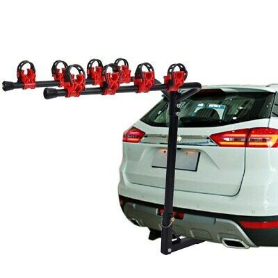 Details About Bike Rack 4 Bicycle Hitch Mount Carrier Car Truck