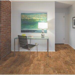 Natural Floors By Usfloors 11 81 In Natural Cork Engineered Hardwood Flooring 22 99 Sq Ft At Lowes Com Engineered Hardwood Flooring Natural Flooring Engineered Hardwood