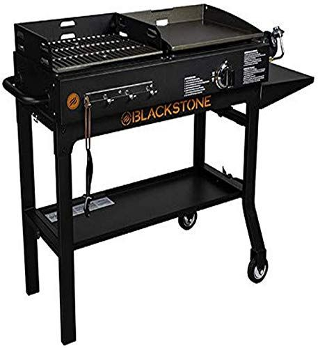 Buy Blackstone 1819 Griddle Charcoal Combo Black Online In 2020 Blackstone Griddle Charcoal Grill Outdoor Cooking