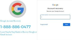 Call On Google Account Recovery Phone Number To Get Instant Online Support For Recovery And Reset Of Your Google Account With Th Account Recovery Google Account