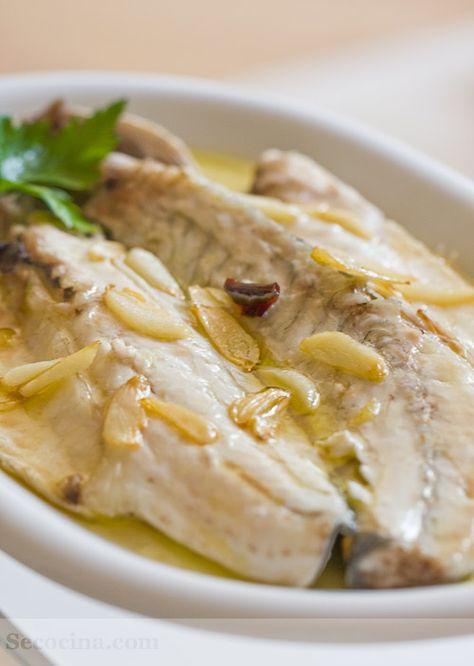 """Esta es mi receta de lubina a la espalda en el horno de casa con cualquier pescadito de ración y """"de crianza"""". Una receta sencilla, rápida y barata."""