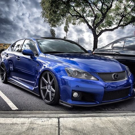 Powerful Lexus IS-F -- not exactly made for island driving but I would gladly accept if hubby felt ever so inclined to get me one!