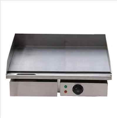 3kw 55cm Electric Griddle Grill Hot Plate Stainless Steel Commercial Bbq Grill B Griddle Grill Electric Griddle Bbq Grill