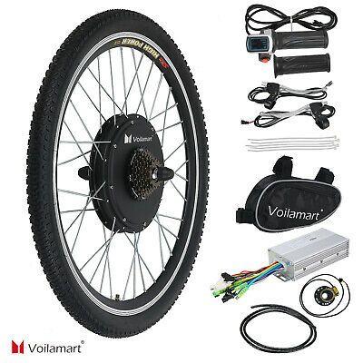 Sponsored Ebay 26 Electric Bike Rear Wheel Bicycle Conversion Kit 1000w Hub Motor 48v Cycling Electric Bike Kits Electric Bicycle Kit Electric Bicycle