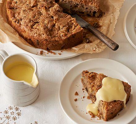 Edd Kimber creates a rustic bake with chunks of sweet fruit and a crunchy demerara sugar topping